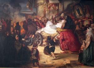 1851_Junge_Hexe,_zum_Scheiterhaufen_geführt_anagoria (1)