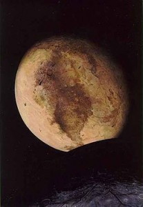 Pluto, By Pat Rawlings / NASA [Public domain], via Wikimedia Commons