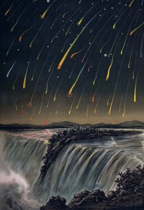 Leonid Meteor Storm by Edmond Weiss