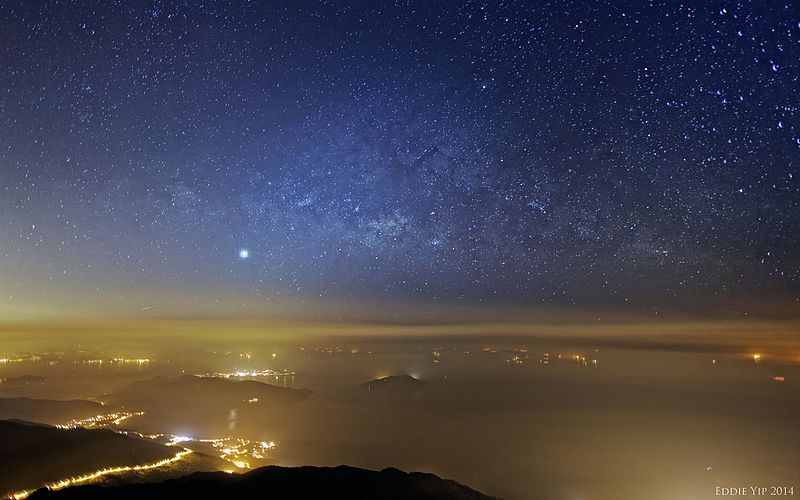 Lantau_Peak_Starry_Night_2014